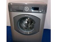 Silver Hotpoint 9kg washing machine