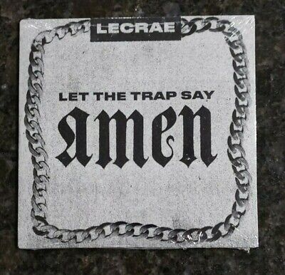 BRAND NEW LeCrae - Let the Trap Say Amen Music Best Selling Christian (Best New Trap Music)