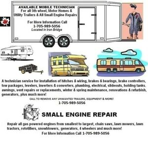 AVAILABLE RV TECHNICIAN FOR ALL YOUR TRAILERS - IRON BRIDGE