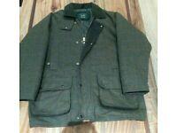Mens green hunting jacket XL