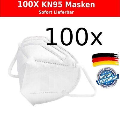 100x Mundschutz Maske KN95 (FFP2 ähnlich),Atemschutzmaske.Sofort Lieferbar 0,29€
