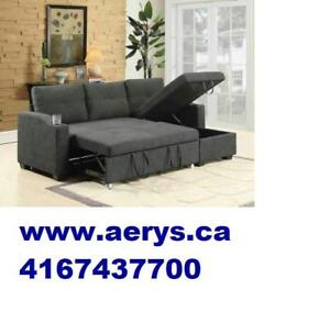 FURNITURE WAREHOUSE SECTIONAL SOFA BEDS ON HUGE SALE STARTS FROM $299 !!!! CALL 4167437700 !!