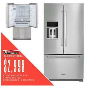 Halton Favourite ApplianceHouse has the best deals on KitchenAid Refrigerators