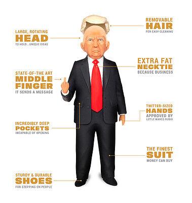 Donald Trump Action figure doll Republican President  ltd nib get it now