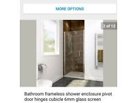 Shower tray and shower enclosure