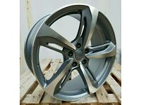 """NEW 19"""" AUDI RS7 STYLE ALLOY WHEELS X4 BOXED 5X112 A4 A5 A6 A7 A8 TT VW SCIROCCO"""