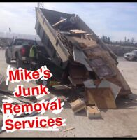 Mike's Junk . H.R.M #1 Junk Removal Services  902.880.7790
