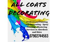 PAINTER AND DECORATOR -PAINTING /WALLPAPERING /SPRAY PAINTER /VENETIAN POLISHED PLASTERING