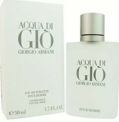 Acqua Di Gio for Men by Giorgio Armani 1.7 oz Eau de Toilette NEW IN SEALED BOX.