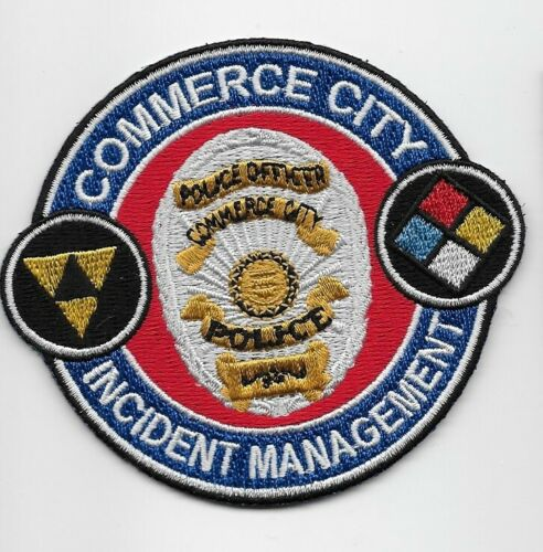 Incident Management Commercity City Police State Texas TX