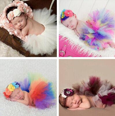 �dchen Prinzessin Fotografie Prop Kostüm Stirnband+Tutu Rock (Neugeborene Prinzessin Kostüm)