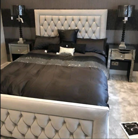 Hilton bed SALE IS NOW ON with Ortho Memory Mattress and Headboard😘