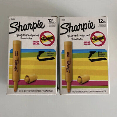 Sharpie Yellow Highlighters 2 Pack