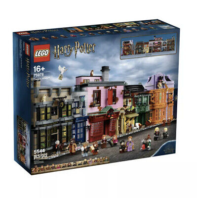 LEGO 75978 Harry Potter Diagon Alley 2020 Brand New! Sealed! Exclusive!