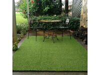 Artificial grass rugs