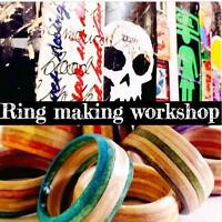 SKATEBOARD RING MAKING WORKSHOP