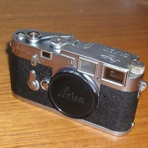 M3 Leica 35mm film camera BODY early 2nd year of production 1955