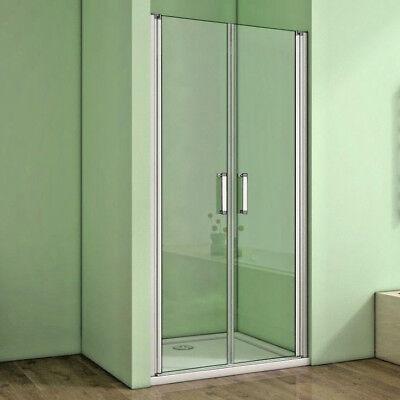 70-140cm Nischentür Pendeltür Dusche Schwingtür Glas Duschtür Duschabtrennung ()