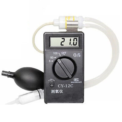 Cy-12c Oxygen Concentration Tester Meter Detector Analyzer Oxygen Purity Tester