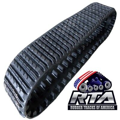 One Rubber Track Fits Asv Rc50 Rc60 Pt50 Pt60 Sc50 15x4x42 Straight Bar Tread