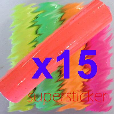 15 Tubes X 10rolls X500 Red Tag Label Refill For Mx M L-5500 989 Motex Price Gun