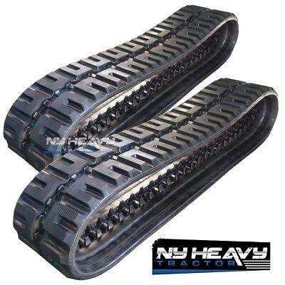 Two New Itr Rubber Tracks Fits Bobcat T830 C-lug Tread 450x86x58 Free Shipping