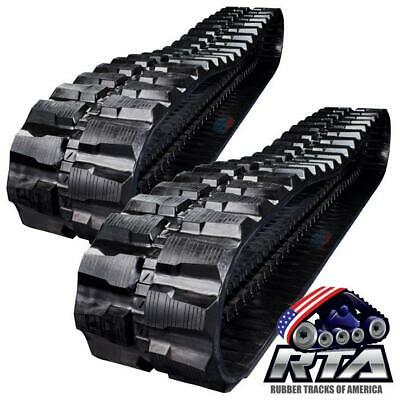 2 Rubber Tracks - Fits Cat 308d 450x71x86 Free Shipping