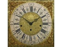 A Rare Whitehaven, Cumbria Longcase Clock Dated 1744
