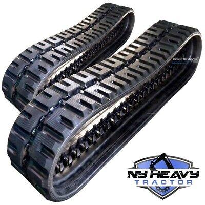 Two Rubber Tracks For Takeuchi Tl26 Tl26-2 320x86x48 C-lug Tread Free Shipping