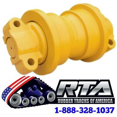 One Single Flange Bottom Roller - Fits John Deere 350c Dozer Id512 Free Shipping