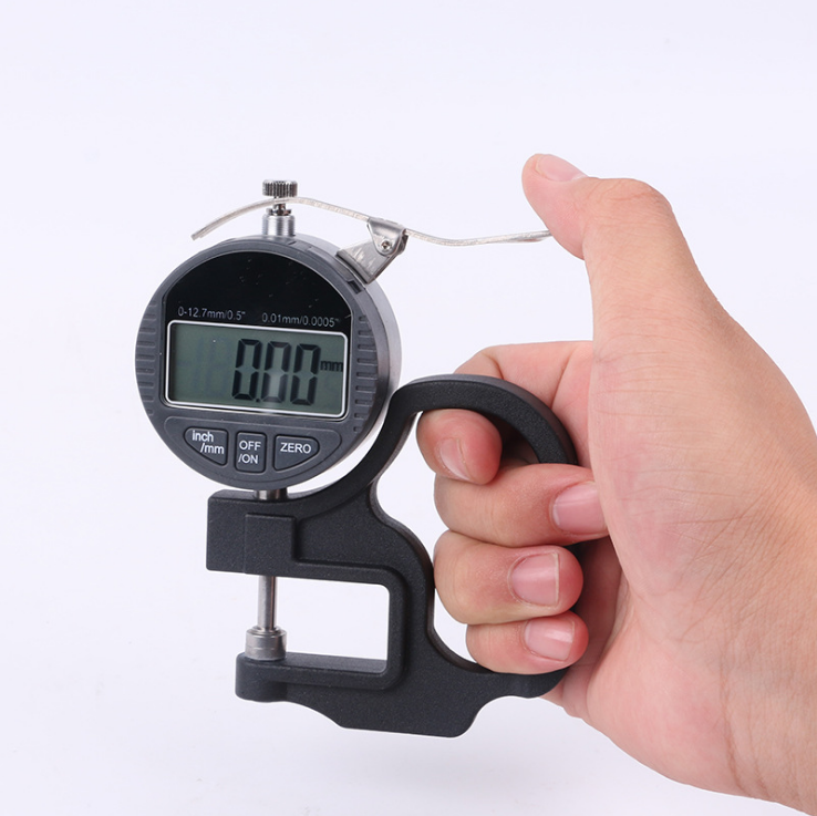 Digital Thickness Gauge 0.001 mm Micron Thickness Gauge Measure for Glass,Paper
