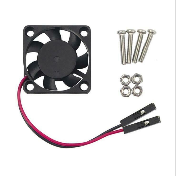 Raspberry Pi 4 / 3B+ / B Fan DC 5V/3.3V 2pin 30x30MM Cooling Fan Computer Case Fans