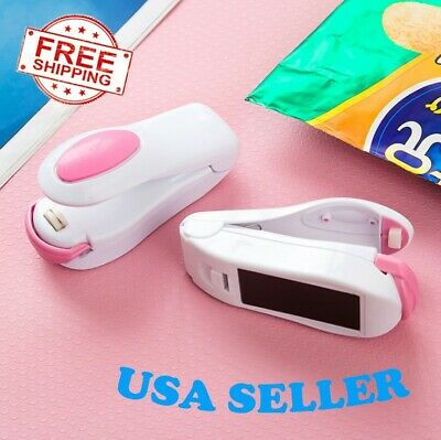 Mini Heat Sealing Machine Impulse Sealer Seal Packing Plastic Bag Tool