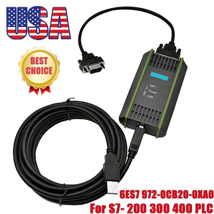 New 6ES7 972-0CB20-0XA0 plc cable for S7-200/300/400 adapter 6ES7972-0CB20-0XA0