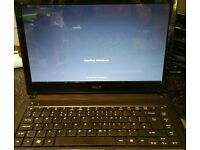 Acer Aspire 4552 Laptop 4Gb Ram 320 Gb Hdd webcam-micr.-dvd-wifi win7-office2016