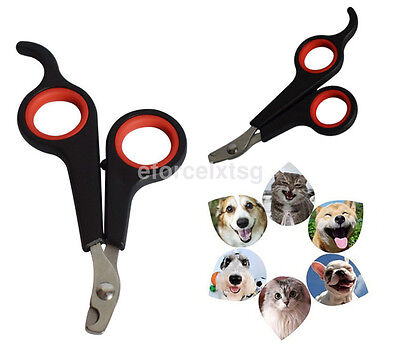 Black Nail Grooming Clippers Toe Trimmer Scissors Tool for Pet Dog Cat Rabbit US