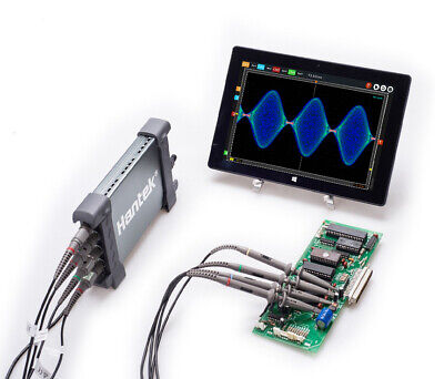 Automotive Diagnostic Kit Usb 4ch 100mhz Oscilloscope 1gsas Memory Depth 128m