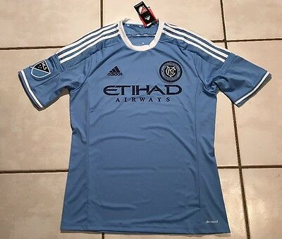 NWT ADIDAS New York City FC 2015/2016 MLS Home Soccer Jersey Men's Large image