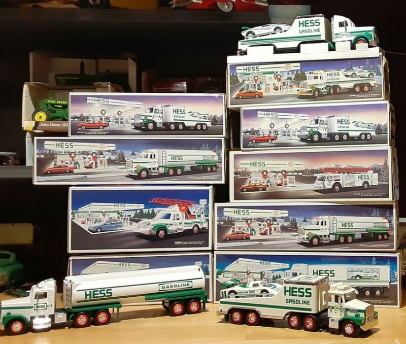 New in Box Hess Toy Trucks - Lot of 10 1988-1994