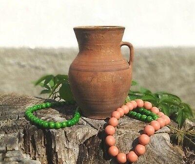 Декоративные тарелки Antique clay milk jug
