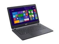 Acer Aspire 13.3-Inch Black Slim Laptop 4GB RAM 1000GB HDD