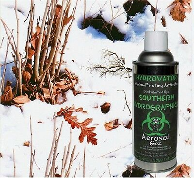 Hydrographic Film Water Transfer Hydro Dip 6oz. Activator Winter Camo Kit