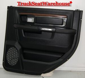 Dodge Ram 2015 RR Rear Passenger Door Trim Pad Panel Laramie