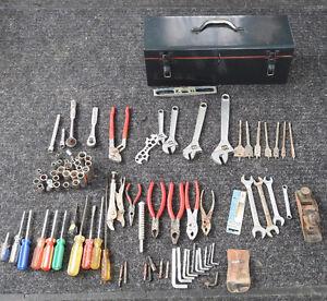 Outils et boîte d'outils