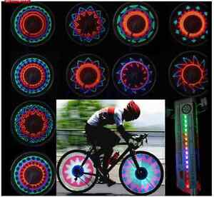 16 LED Car Motorcycle Cycling Bike Bicycle Tire Wheel Valve Flas
