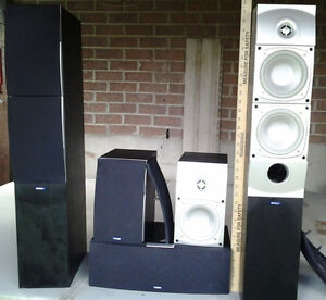 Complete Surround Speaker Package with Subwoofer.