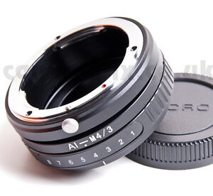 Tilt-Nikon-Lens-to-Micro-Four-Thirds-m4-3-mount-adaptor-ring-Olympus-Panasonic