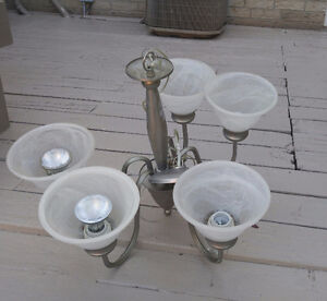 Light fixture for sale..can also be used as small chandelier