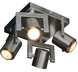 Homebase Yorkie 4 Plate Spotlight - (New/Unused) Light Fitting