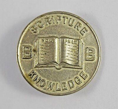 Scarce Boys Brigade Original Scripture Knowledge Merit Badge